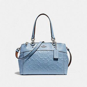 COACH MINI BROOKE CARRYALL IN SIGNATURE LEATHER